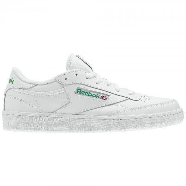 e3a4befb6a20 Reebok Shoes Club C 85 Intense White green - Tifoshop.com