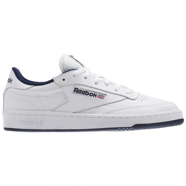 f78f5825eb2 Reebok Shoes Club C 85 Intense White navy - Tifoshop.com