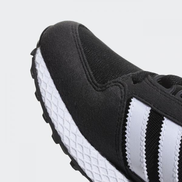 competitive price 51714 d74d1 ... Adidas Originals Shoes Forest Grove Junior Core Black   Ftwr White   Core  Black Tifoshop ...