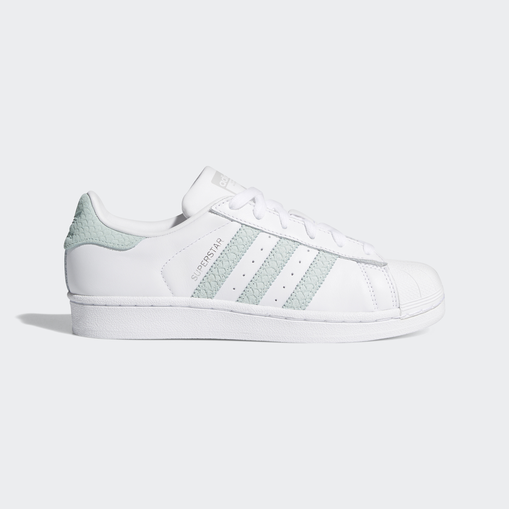 Green Femmes Ftwr Whiteash Adidas Chaussures Originals Superstar U57CgqA