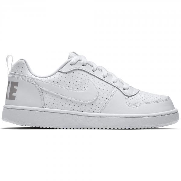 Nike Scarpe Court Borough Low  Junior Bianco