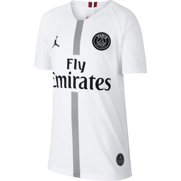 Nike Maglia Gara Terza Paris Saint Germain Junior  18/19 Bianco