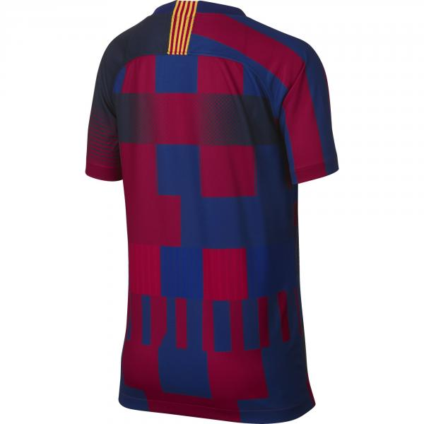 Nike Maglia Gara 20th Anniversary Barcellona Junior  18/19 Blu Tifoshop