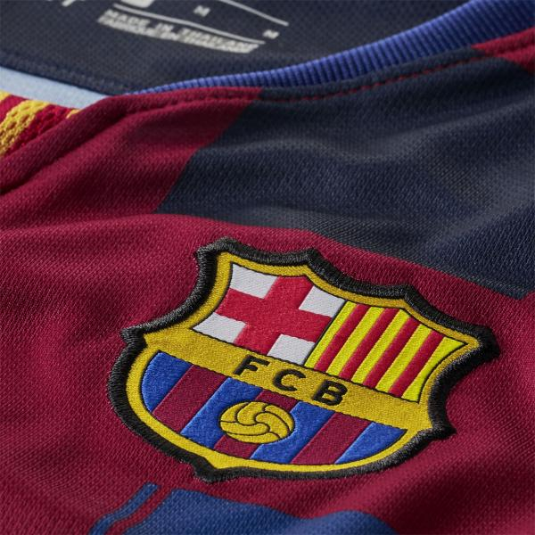 9e6a4a5f700 ... Nike Jersey 20th Anniversary Barcelona Junior 18 19 DEEP ROYAL BLUE NOBLE  RED