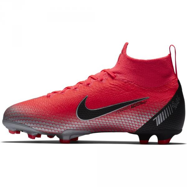 Nike Scarpe Calcio Superfly 6 Elite Cr7 Fg  Junior Cristiano Ronaldo Rosso Tifoshop