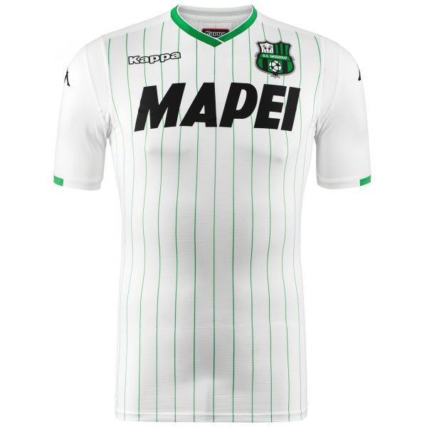 Kappa Maglia Gara Away Sassuolo   18/19 Bianco