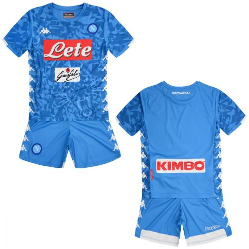 Kappa Completo Home Napoli Junior  18/19
