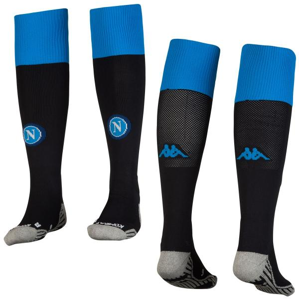 Kappa Chaussettes De Course Home & Away Naples   18/19 Black