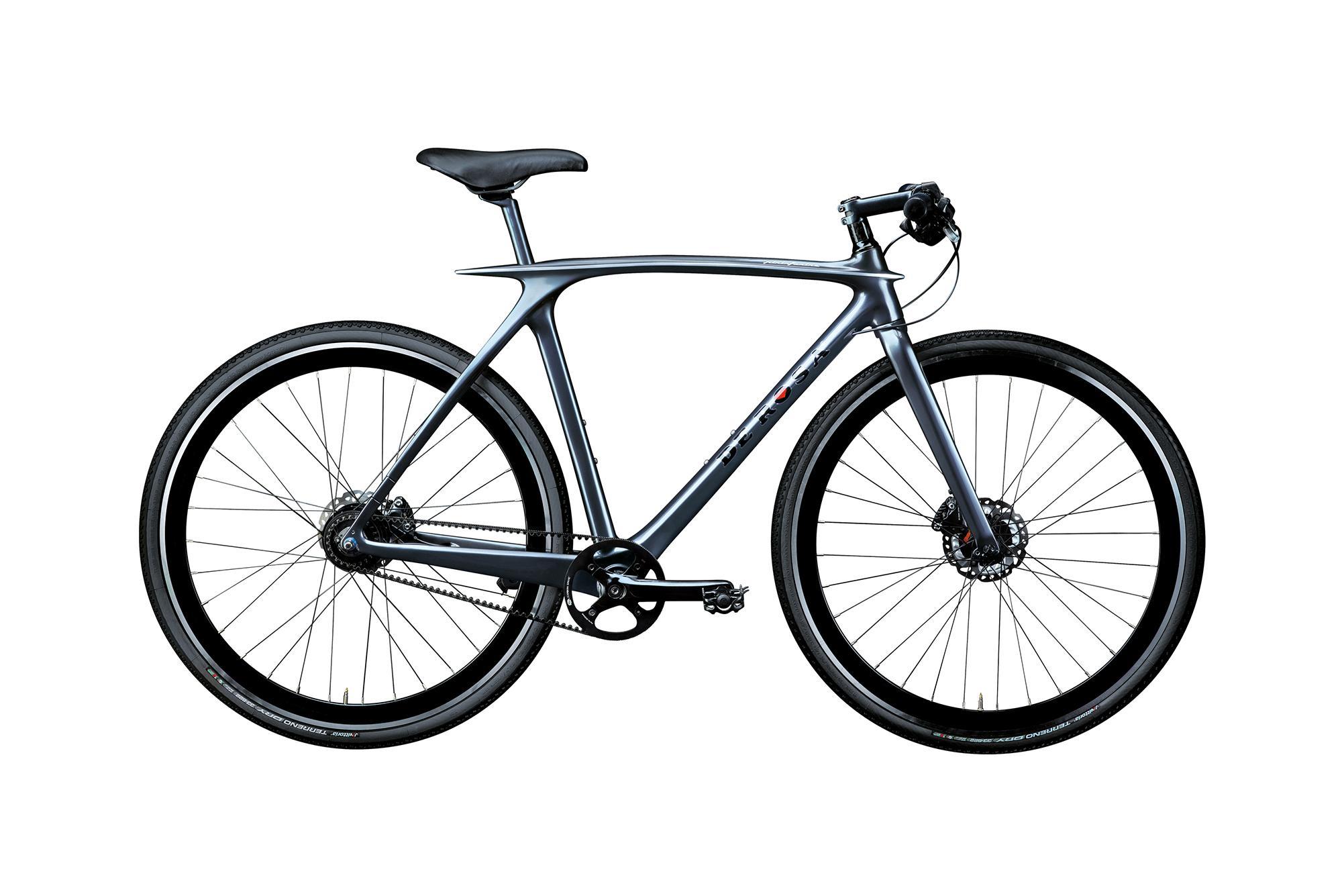 Bicicletta Grigio