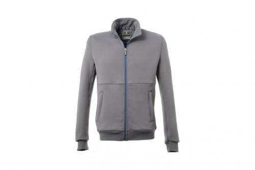 Full Zip Technical Sweatshirt Cambiano Collection Grey