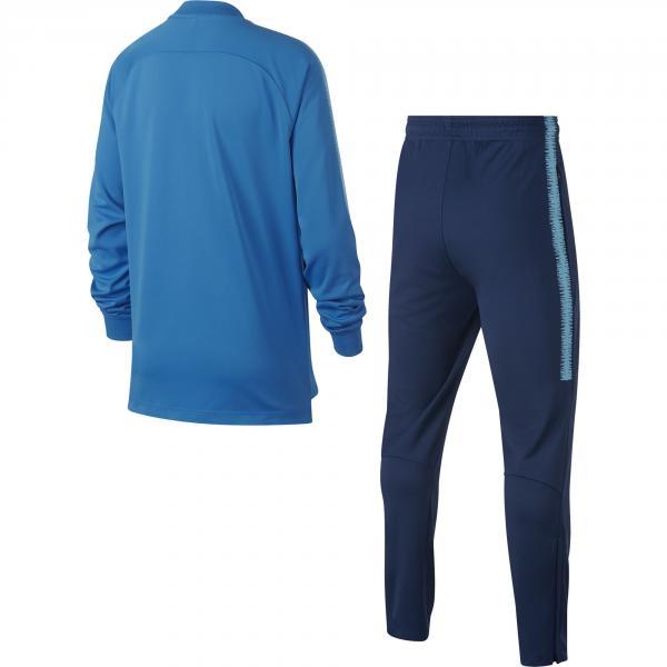 Nike Tuta  Barcellona Junior Blu Tifoshop