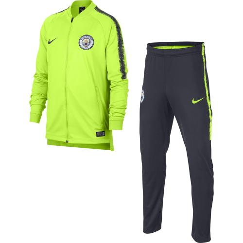 Manchester City Squad Tracksuit Junior