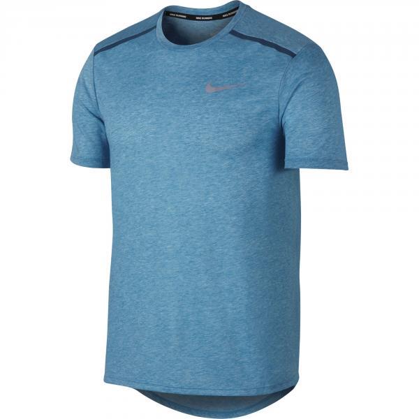Nike T-shirt Breathe Rise 365 Azzurro