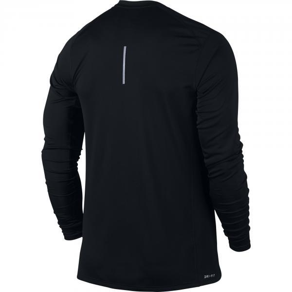 Nike Maglia Miler Long Sleeve Nero Tifoshop