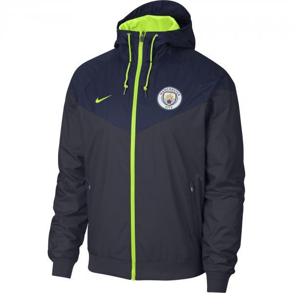 Nike Giacca Tempo Libero Manchester City Blu