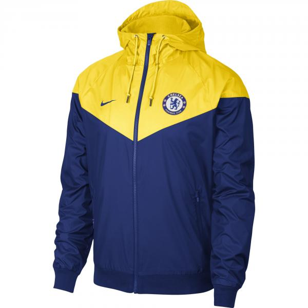 Nike Jacket Lifestyle Chelsea Rush Blue/Tour Yellow/Rush Blue