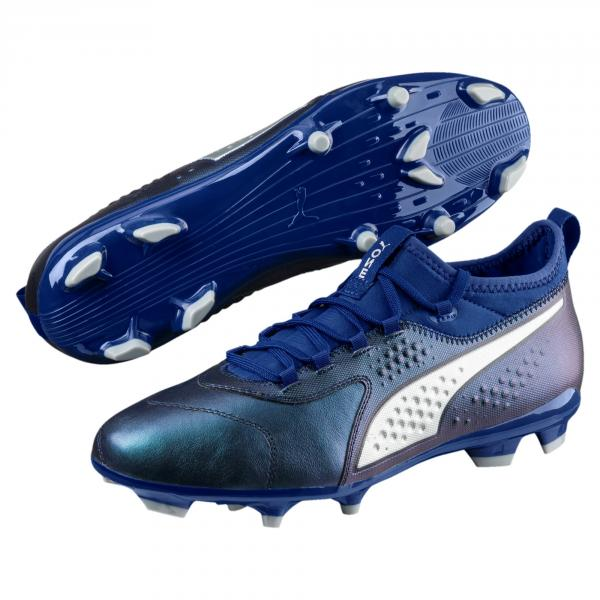 Puma Scarpe Calcio One 3 Lth Fg Blu Tifoshop