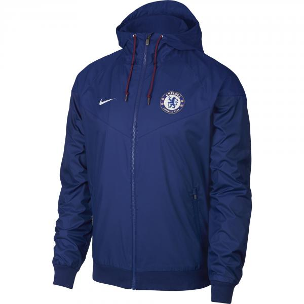 Nike Giacca Tempo Libero Chelsea Blu Bianco