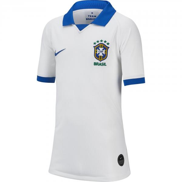 Nike Maglia  Brasile Junior Bianco