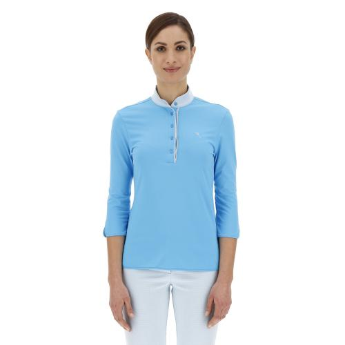 Chervò Polo mujer turquoise Airforce 63370 544 tg. 42