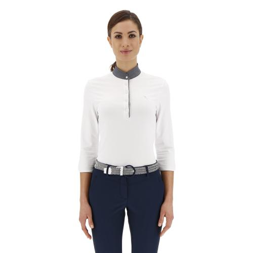 Chervò Polo mujer blue Airforce 63370 12a tg. 40
