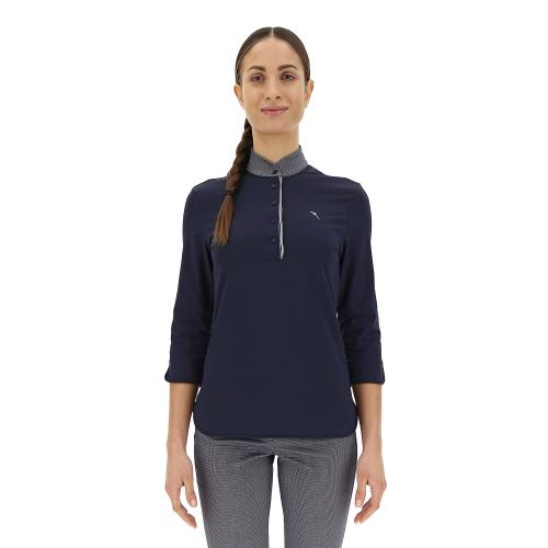 Chervò Polo mujer navy blue Airforce 63370 599 tg. 40