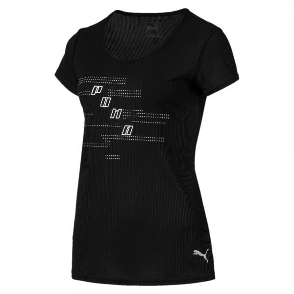 Puma T-shirt Ignite Logo  Donna Nero