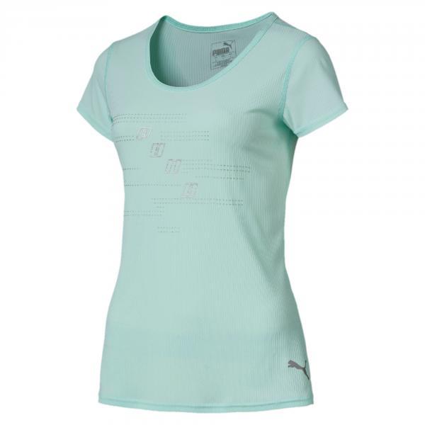 Puma T-shirt Ignite Logo  Donna Azzurro