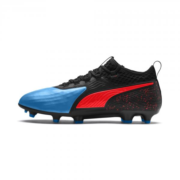 Chaussures football PUMA ONE 19 2 FGA.BLEU