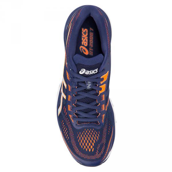 Asics Scarpe Gt-2000 7 Blu Arancione Tifoshop