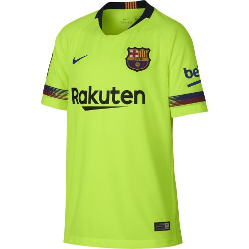 Nike Jersey Away Barcelona Junior  18/19