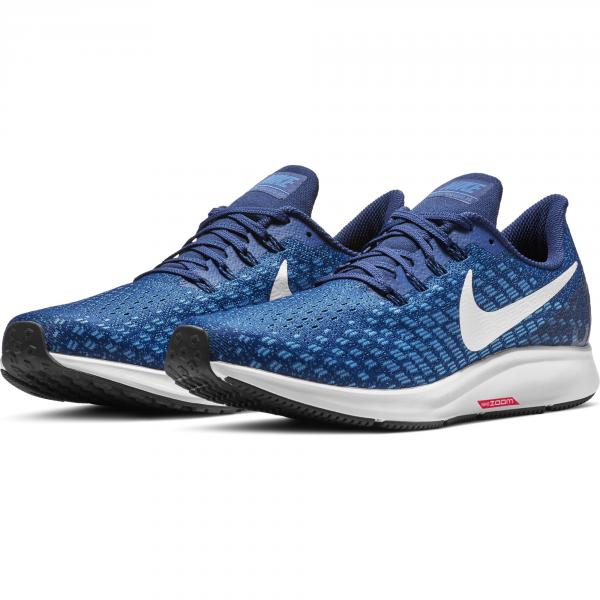 Nike Chaussures Air Zoom Pegasus 35 INDIGO FORCE/WHITE-PHOTO BLUE-BLUE VOID Tifoshop