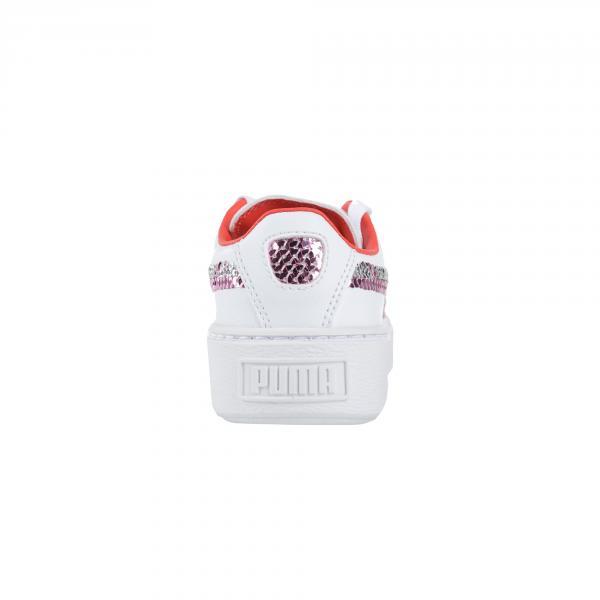 Puma Scarpe Basket Platform Trailblazer Sqn Ps  Junior Bianco Tifoshop