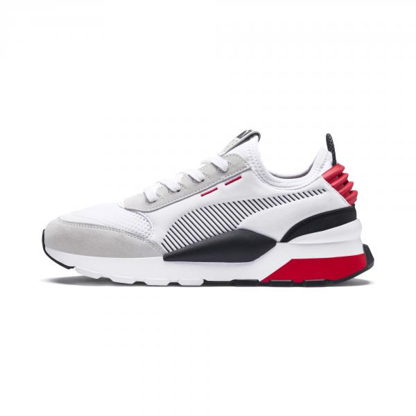 Puma Shoes Rs-0 Winter Inj Toys Puma White-High Risk Red