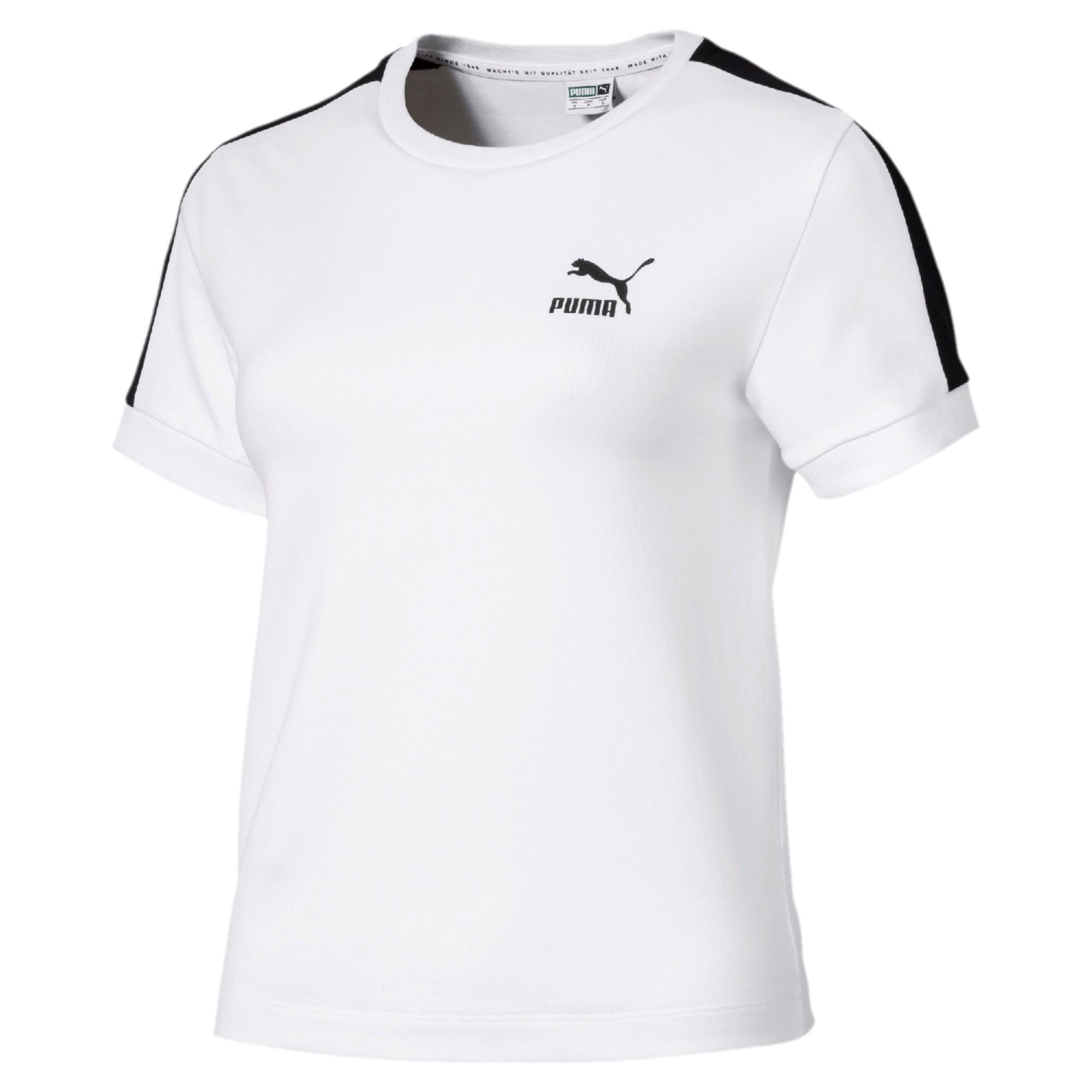 Puma T-shirt Classics Tight T7  Donna