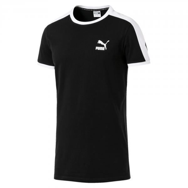Puma T-shirt Iconic T7 Slim Cotton Black