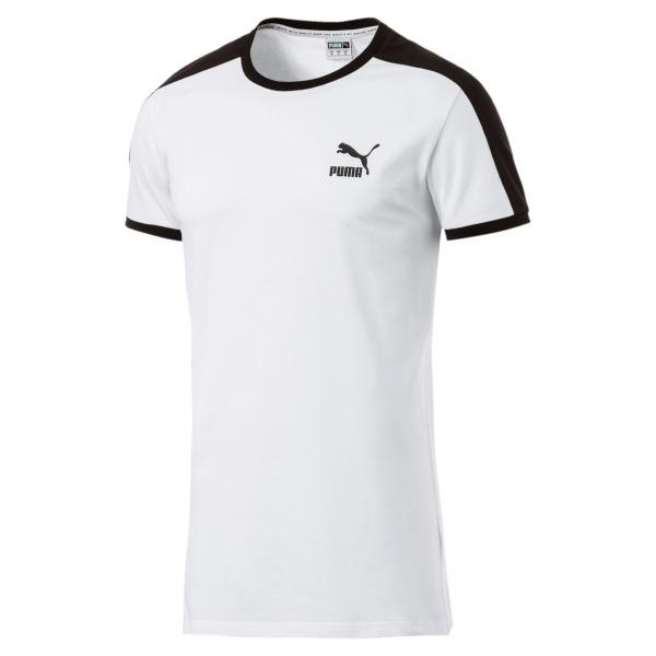 Puma T-shirt Iconic T7 Slim Puma White