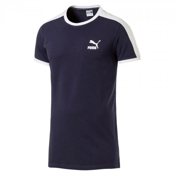 Puma T-shirt Iconic T7 Slim Blu
