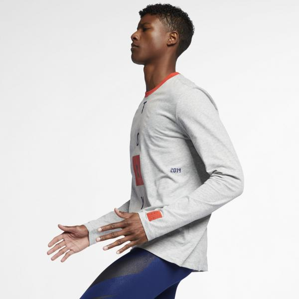 Nike Maillot Dry Fit  Tokyo DK GREY HEATHER Tifoshop