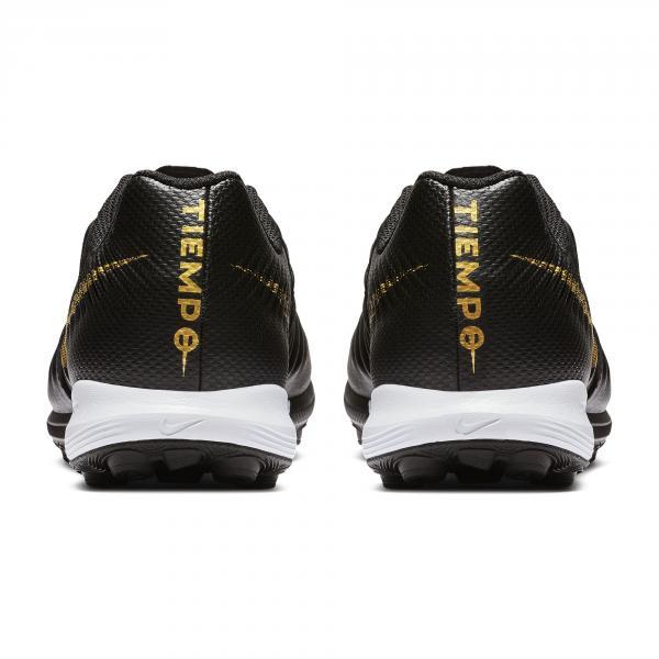 Nike Scarpe Calcetto Lunar Legendx 7 Pro Tf Nero Oro Tifoshop