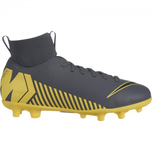 Nike Scarpe Calcio Mercurial Superfly Vi Club Mg  Junior Grigio