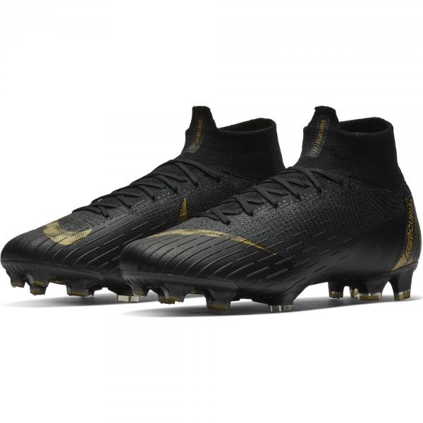 Nike Scarpe Calcio Superfly 6 Elite Fg Nero Oro Tifoshop