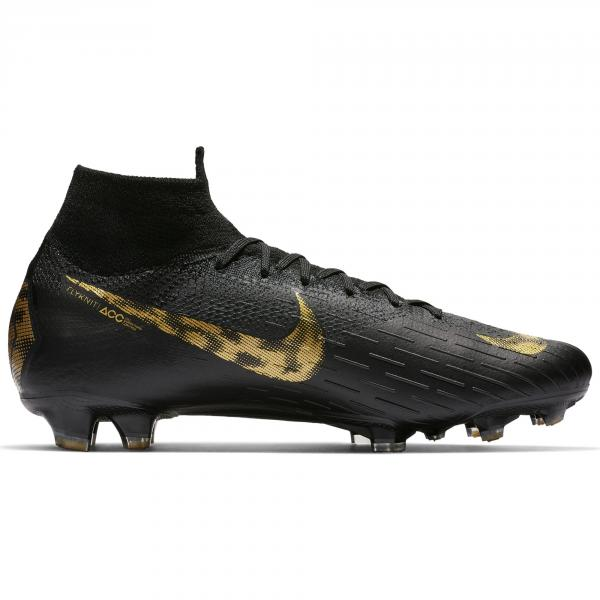 Nike Scarpe Calcio Superfly 6 Elite Fg Nero Oro