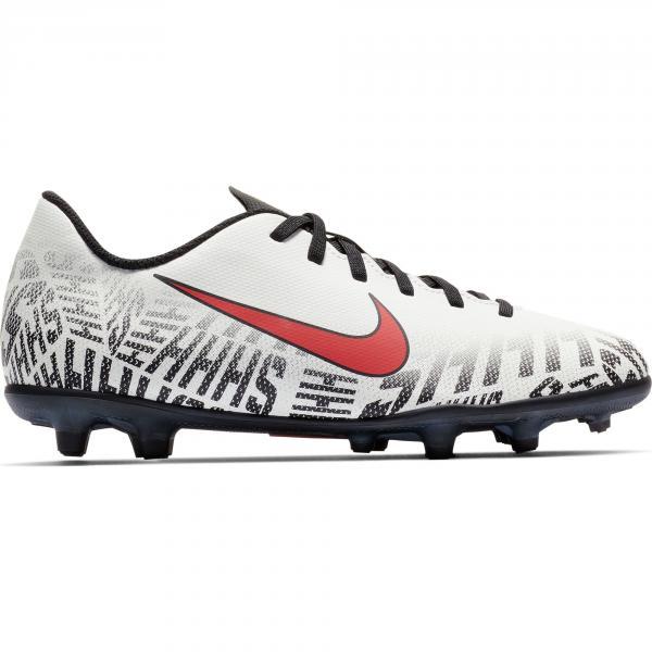 Nike Scarpe Calcio Vapor 12 Club Fg  Junior Neymar Jr Bianco