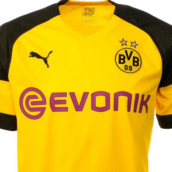 Puma Maglia Gara Home Borussia Dortmund   18/19 Giallo Tifoshop