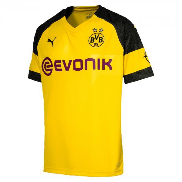 Puma Jersey Home Borussia Dortmund   18/19 Cyber Yellow
