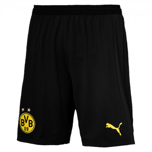 Puma Pantaloncini Gara Home & Away Borussia Dortmund   18/19 Nero