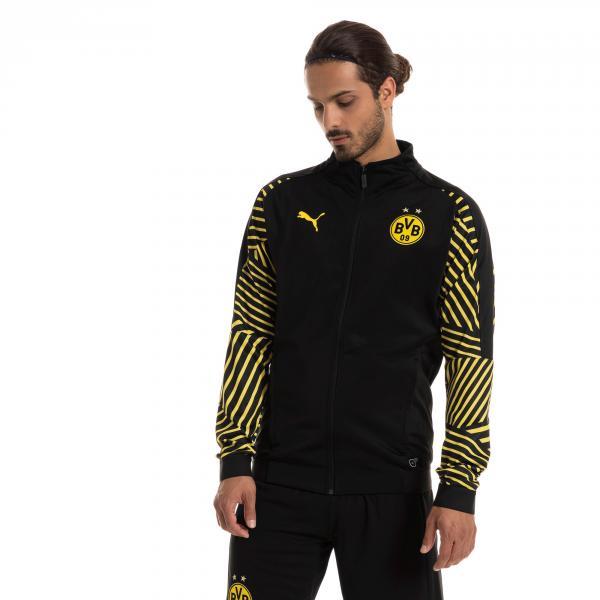 Puma Felpa  Borussia Dortmund   18/19 Nero Tifoshop