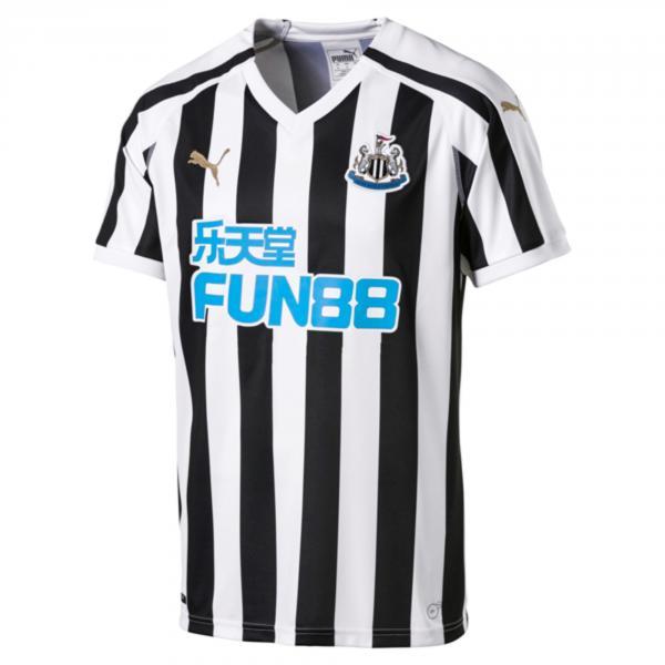 Puma Maglia Gara Home Newcastle United   18/19 Nero Bianco