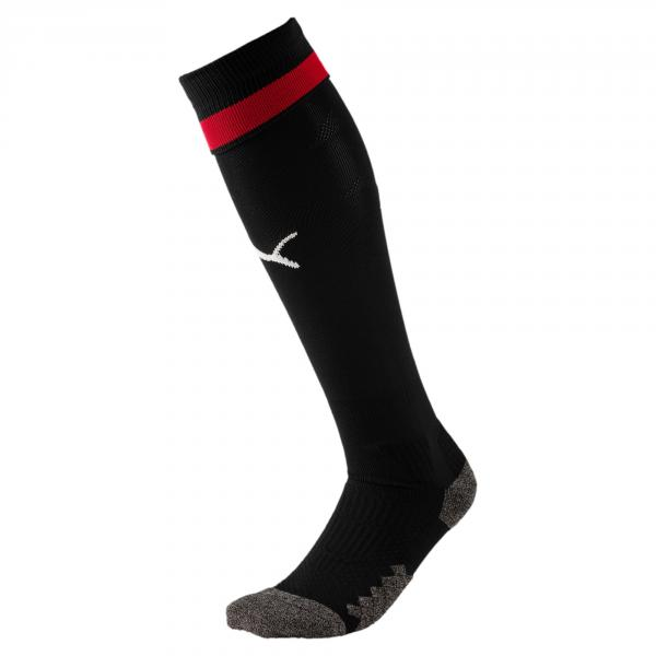 Puma Chaussettes De Course Home & Away Milan   18/19 Puma Black-Tango Red